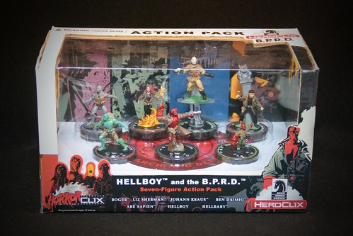 Indy HeroClix HELLBOY and the BPRD_001