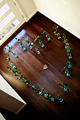 Roses (bivoir) Tags: wedding roses heart ourwedding fromabove lookingdown shape