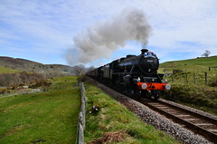 Rogart (The Loose Cannon.) Tags: rogart lairg black5 uksteam farnorthline scottishsteam thegreatbritainiv steamlocomotivesphotographedinscotland