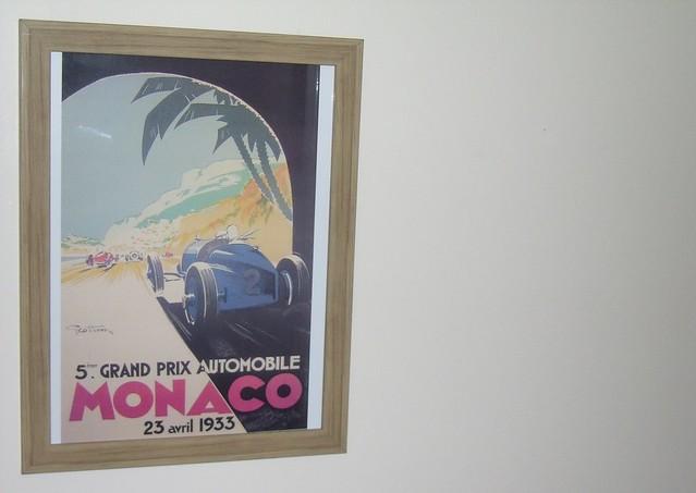 1933 Monaco Grand Prix poster