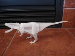 Giganotosaurus (shuki.kato) Tags: paper origami dino dinosaur reptile teeth lizard fold theropod carnosaur giganotosaurus