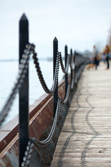 Pier (Two Lazy Canucks) Tags: toronto pier bokeh chain lakeontario