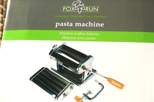 Fox Run Craftsmen Steel Pasta Machine