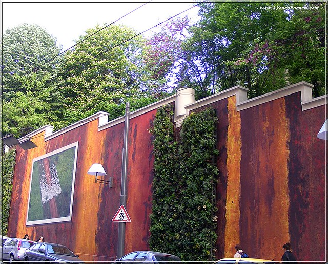 Le mur de l'Annonciade