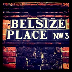 Belsize Place (tonyhall) Tags: square squareformat walktalk iphoneography instagramapp xproii uploaded:by=instagram foursquare:venue=6923610