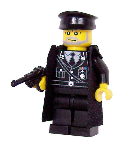 Custom minifig German General (WWII) - Custom LEGO Minifigure