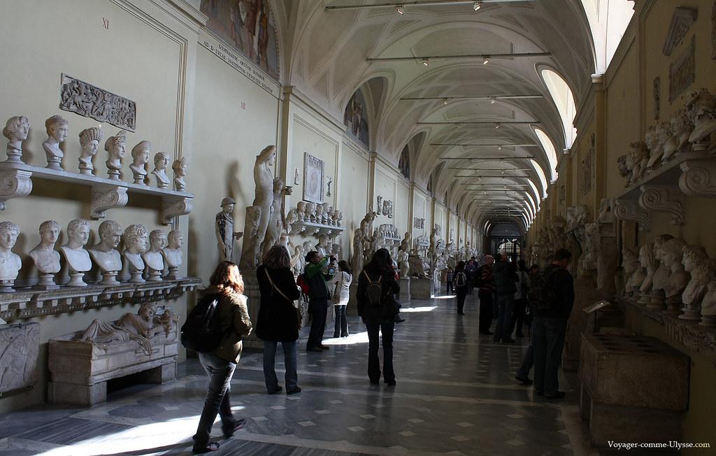 Statues romaines du Musée Chiaramonti