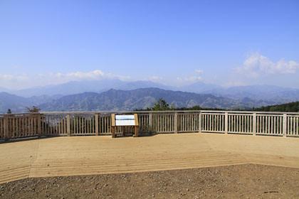 一丁平と富士山