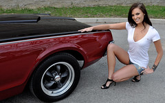 """1968 Cougar Photo Shoot With Kara • <a style=""""font-size:0.8em;"""" href=""""http://www.flickr.com/photos/85572005@N00/5663629244/"""" target=""""_blank"""">View on Flickr</a>"""