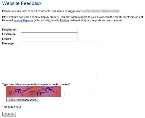 feedback website