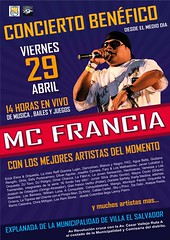 Concierto Benéfico Mc Francia - Villa El Salvador