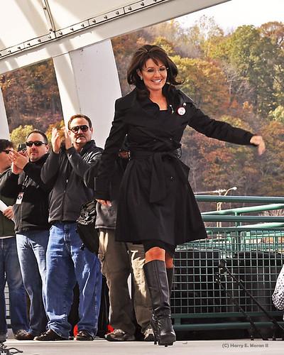 Sarah Palin in boots