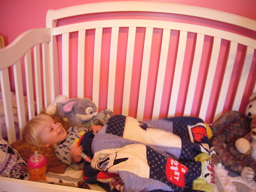 switching to a toddler bed