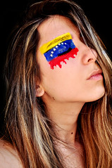 #1 - Venezuela (more inside) (Larissa Grace.) Tags: world blue red portrait woman girl face yellow azul bandeira self painting de photography star photo mujer rojo nikon paint flickr foto chica perfil retrato venezuela flag cara autoretrato grace piercing vermelho amarillo amarelo estrellas bandera fotografia autorretrato projeto facial repblica larissa pintura sangue rosto nariz roja the pas bolivariana d90 representao