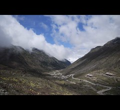 Enroute Tawang, Sela Pass