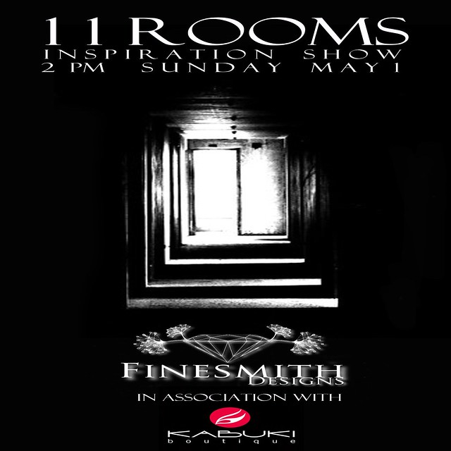 11 ROOMS FINESMITH DESIGNS INSPIRATION SHOW INVITE