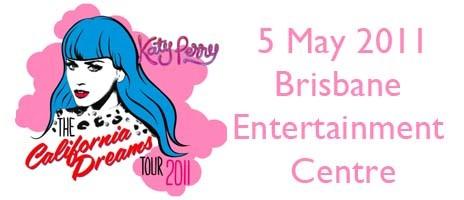 Katy Perry The California Dreams Tour 2011