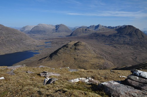 The Peaks of Torridon from Baosbheinn