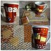 Mug Rug Camomila (**DASDE Artes!**) Tags: caneca chá camomila mugrug tapetedecaneca