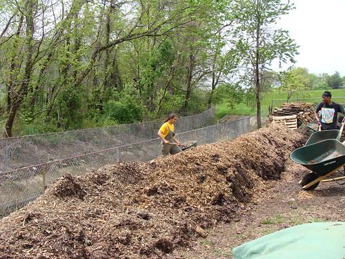 LONG Compost Pile