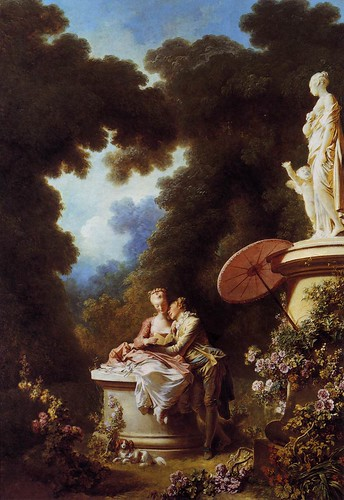 The Confession of Love-Fragonard