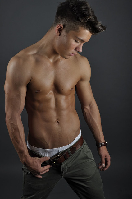 Picture About Male Fitness Model DEAN C. From TeeJott