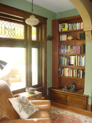 reading nook at front window