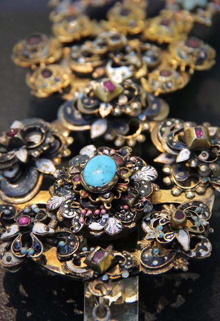 Detail - Plume, Hungary, 17th century