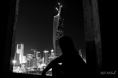 Loneliness (MJ_ALFeeli) Tags: tower loneliness towers kuwait drama sharq