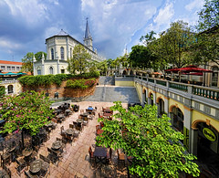 CHIJMES  This was once a Convent... Singapore update (williamcho) Tags: tourism chijmes shopping singapore cathedral restaurants landmark entertainment pubs convent nationalmonument d300 foodbeverage flickraward flickrestrellas nikonflickraward topazlabadjust williamcho flickrtravelaward imagesonsingapore