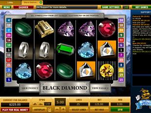 Black Diamond slot game online review