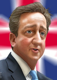 David Cameron - Caricature