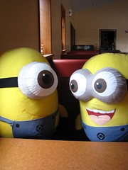 Minions in Plymouth Rock Cafe