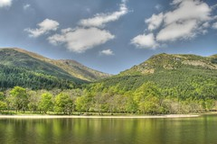 Loch Lubnaig (mark_mullen) Tags: lake mountains beautiful canon landscape scotland countryside is highlands scenery munroe scottish hills 1d mk2 loch picturesque f4 hdr rugged callendar 24105 lubnaig markmullen markmullenphotography
