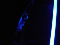 "May 04 2011 [Day 184] Bonus ""May The Fourth Be With You, Always"" (James_Seattle) Tags: starwars sony cybershot jedi bonus lightsaber year1 dscf717 2011 sonycybershotdscf717 bluelightsaber maythefourthbewithyou jamesseattle"