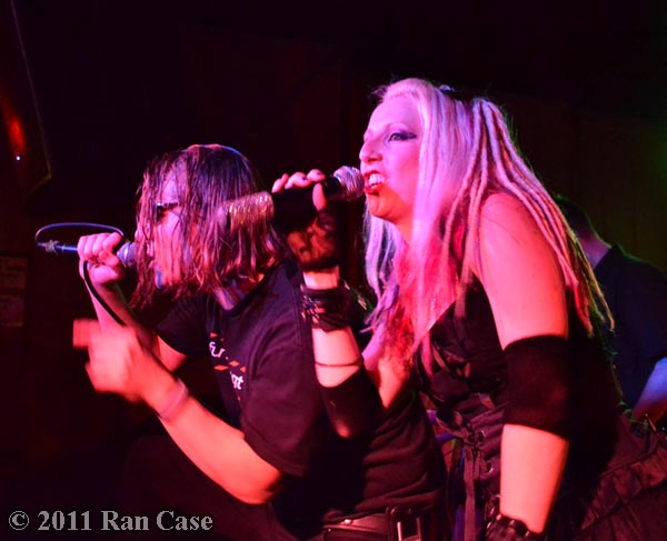 Jim Semonik and Ayria @ 31st Street Pub, Pittsburgh @2011 Ran Case
