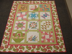 Jessie's quilt all finished