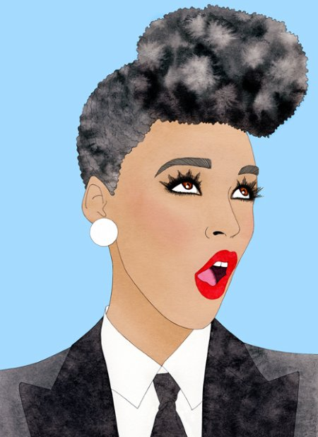 Janelle Monáe by I Missy You