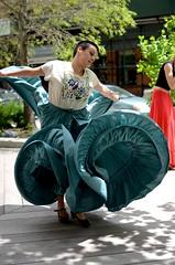 Section Dancing (Michael Hirsch) Tags: nyc dancers dancing manhattan spanish dresses flamenco greenwichvillage courant d7000 michaelhirsch
