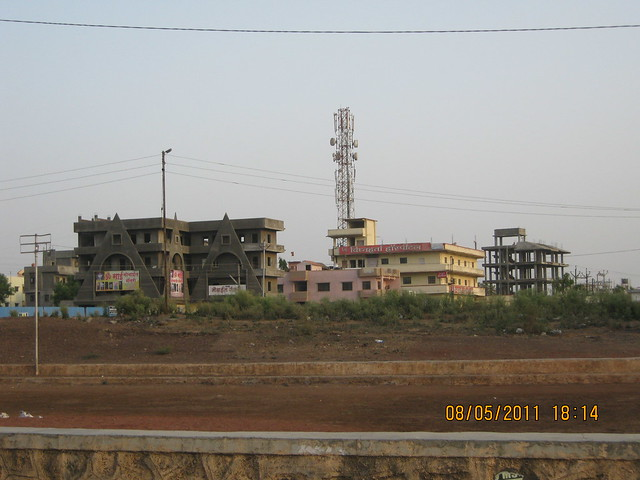 Developments on the road to Moze College, Wagholi, Kharadi annexe, Pune