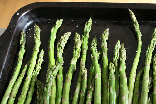 Broiling Asparagus