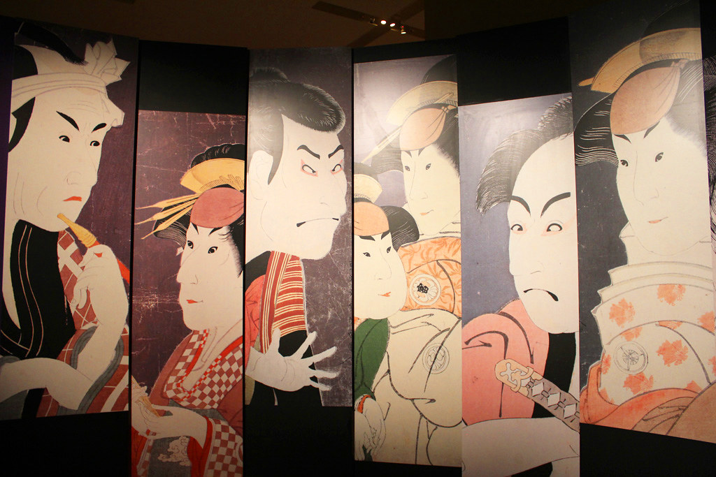 The special exhibition Sharaku that started on may 1st (6)