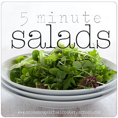5 minute salads logo