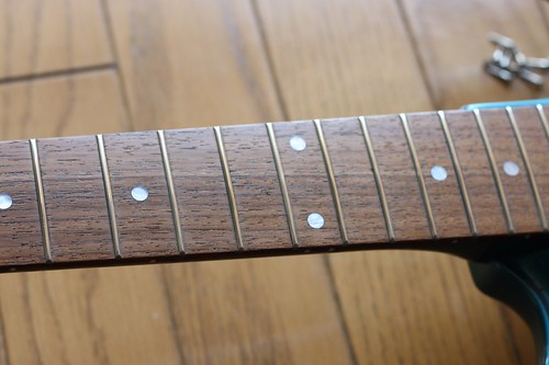 Polished fret wires