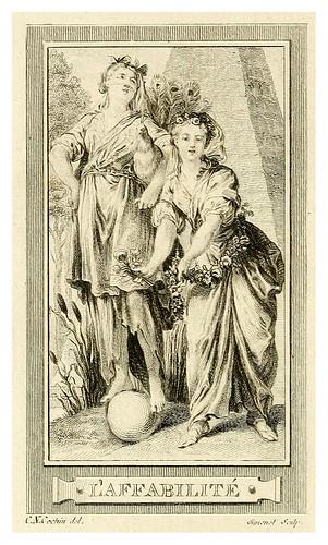 002- La afabilidad-Iconologie par figures, ou, Traité complet des allégories…1791