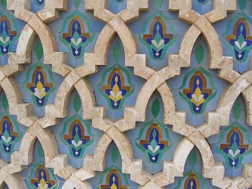 Morocco Mosque Wall Tile