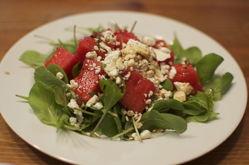 Arugula, Watermelon & Feta Salad