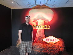 Kevin at Atomic Testing Museum