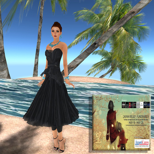 Meiling Couture, Japan Relief Fundraiser by ElaraGloriana Scrabblebat
