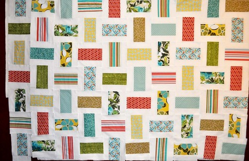 Alabama Quilt ~ Blocks on the wall